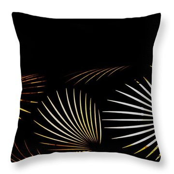 The Palm Frond Light Throw Pillow