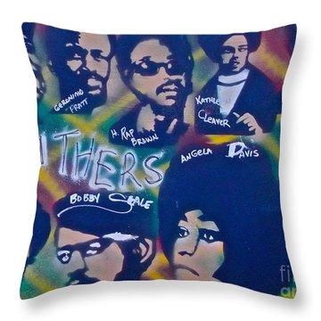 The Panthers Throw Pillow