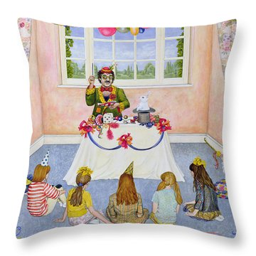 The Party Throw Pillow
