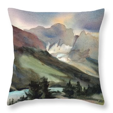 The Pass Throw Pillow