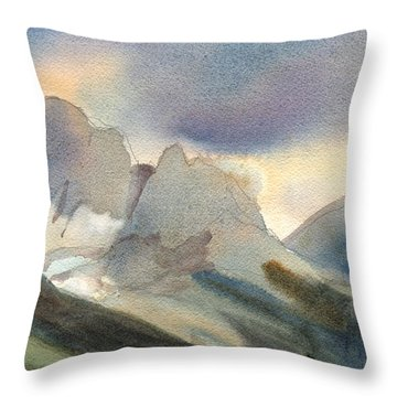 The Pass Throw Pillow by Kris Parins