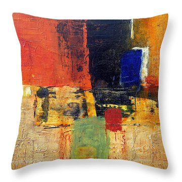 The Passion Throw Pillow by Jim Whalen