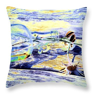 Lay The Past Down Behind Me Throw Pillow