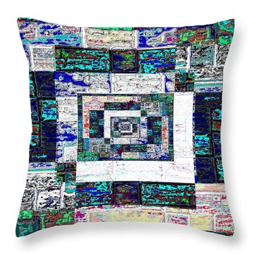 The Patchwork Throw Pillow by Tim Allen