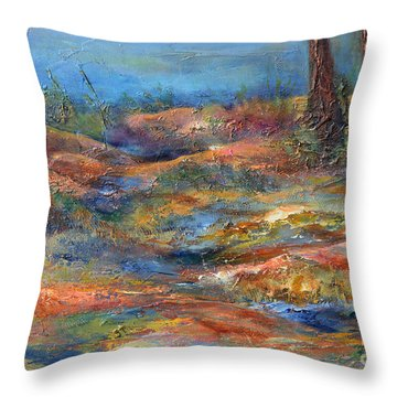 The Path 1 Throw Pillow