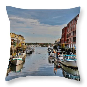 Quaint Path Throw Pillow