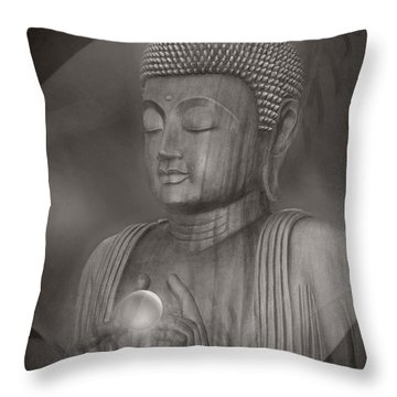 The Path Of Peace Throw Pillow
