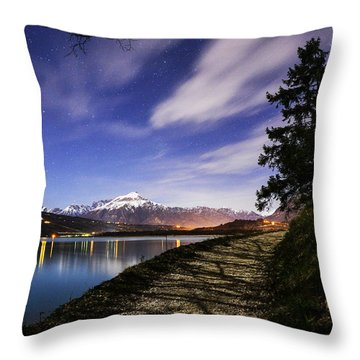 The Path  Throw Pillow by Yuri Santin