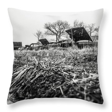 The Paths I Take  Throw Pillow by Off The Beaten Path Photography - Andrew Alexander