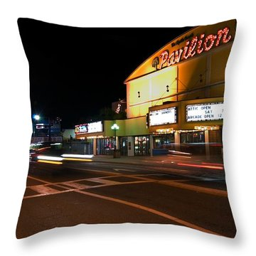 The Pavilion Myrtle Beach Throw Pillow