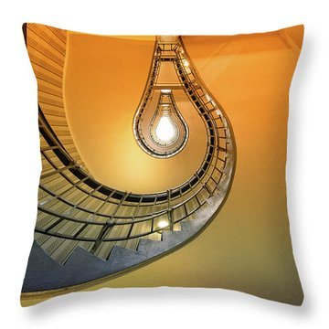 Stairwell Throw Pillows