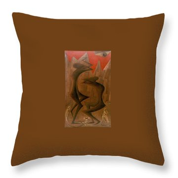 The Penance Dance Throw Pillow