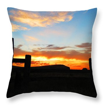 The Peninsula Throw Pillow
