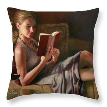 Reading Throw Pillows
