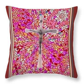 The Perfect Sacrifice  Throw Pillow by Ray Tapajna