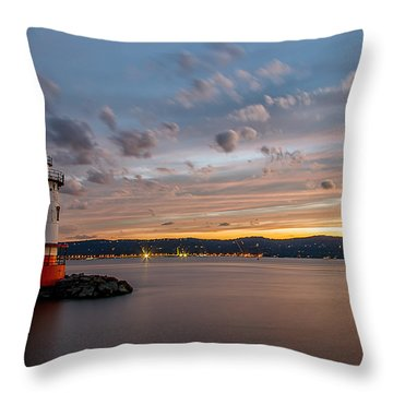 The Perfect Time Throw Pillow