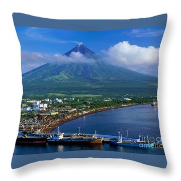 Mayon Throw Pillows