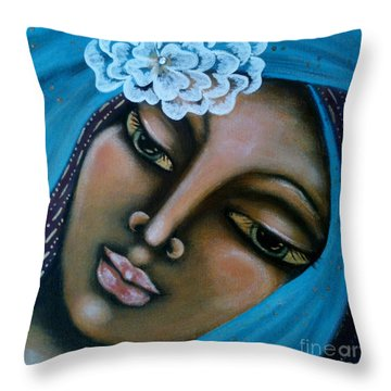 The Perfected Soul Throw Pillow by Maya Telford