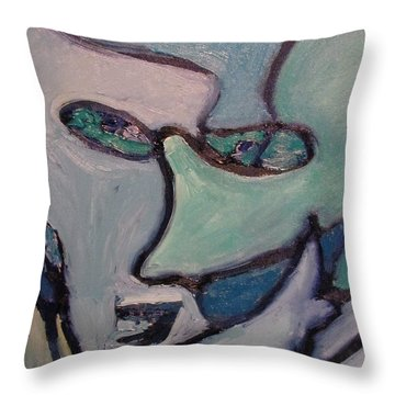 The Perpetrator  Throw Pillow