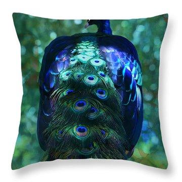 The Persian Bird Throw Pillow