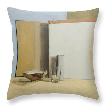 The Peruvian Bowl  Throw Pillow by William Packer