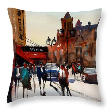 The Pfister - Milwaukee Throw Pillow
