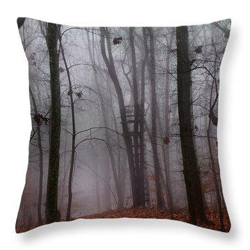 The Phantom Rises Throw Pillow by Betsy Knapp