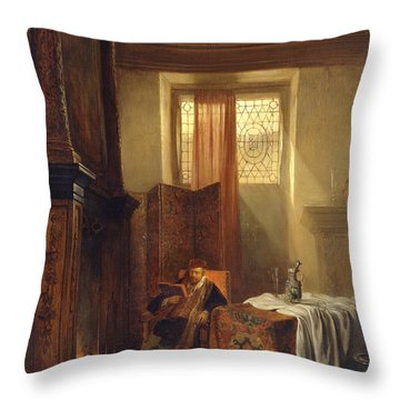 The Philosopher Throw Pillow