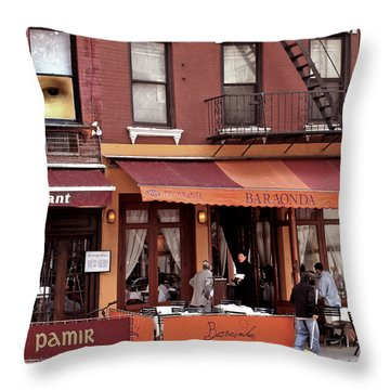 The Photographer's Eye Throw Pillow by Madeline Ellis
