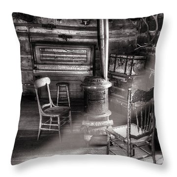 The Piano Room Throw Pillow by Ken Smith