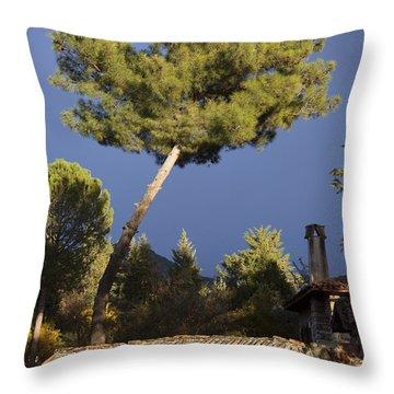 The Pine Throw Pillow