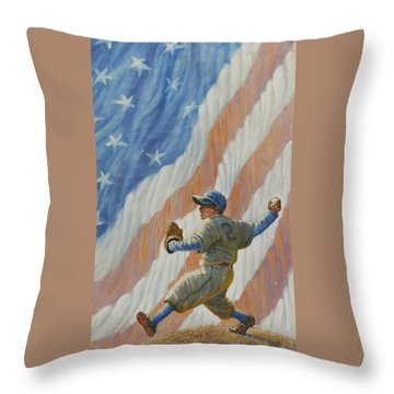 The Pitcher Throw Pillow