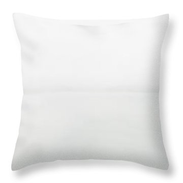 The Place Where Air Meets Water Throw Pillow