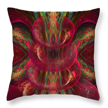 The Playground In My Mind 2 - Abstract Fantasy Art By Giada Rossi Throw Pillow