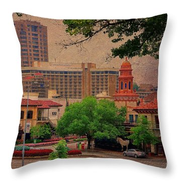 The Plaza - Kansas City Missouri Throw Pillow