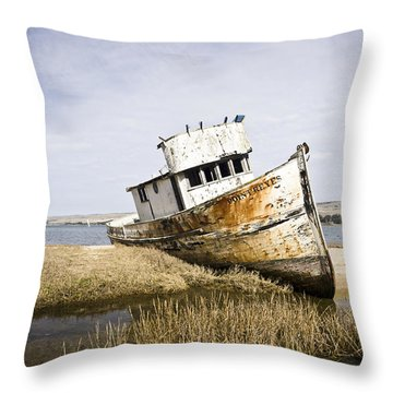 The Point Reyes Throw Pillow by Priya Ghose
