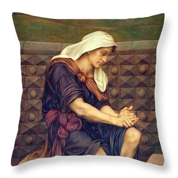 The Poor Man Who Saved The City Throw Pillow