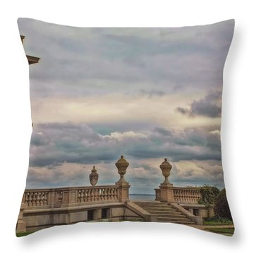 The Porch Throw Pillow by Joann Vitali