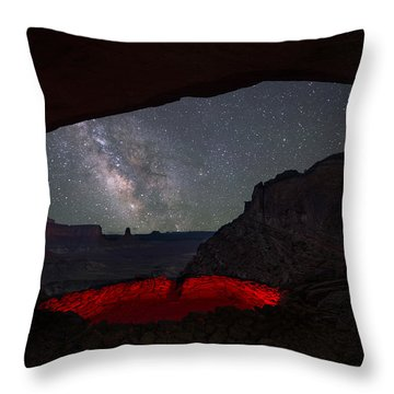 Throw Pillow featuring the photograph The Portal by Dustin  LeFevre