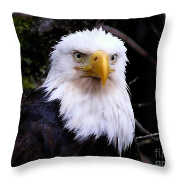 The Portrait Throw Pillow