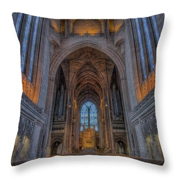 The Power Of Peace Throw Pillow