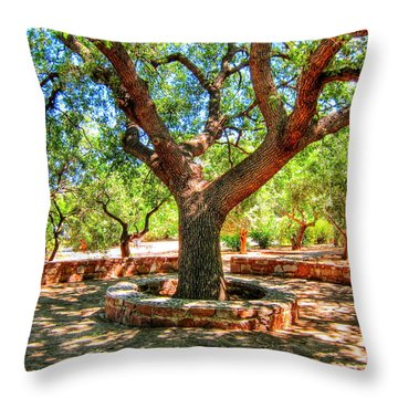 A Magic Place Throw Pillow by Andreas Thust