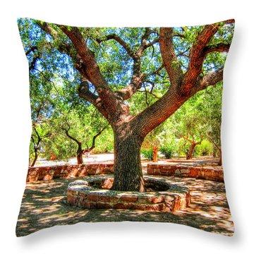 A Magic Place Throw Pillow