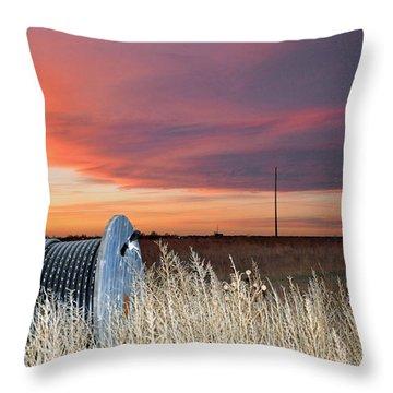 The Prairie Throw Pillow