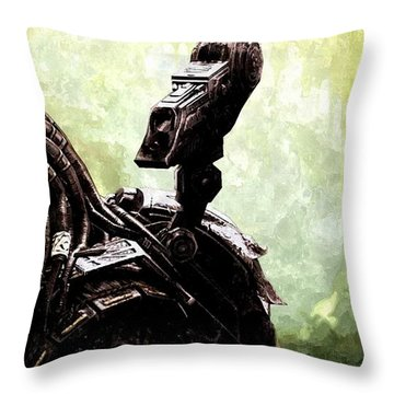 The Predator Throw Pillow