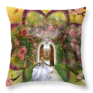 The Presence  Throw Pillow