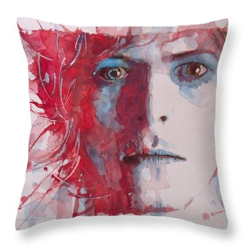 The Prettiest Star Throw Pillow by Paul Lovering