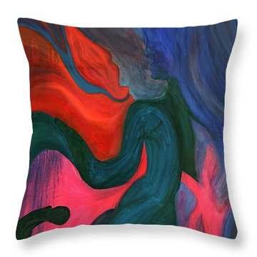 The Prince And The Dragons Throw Pillow