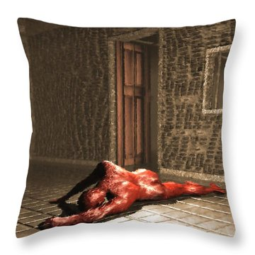 The Prisoner Throw Pillow