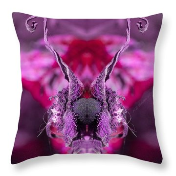Throw Pillow featuring the photograph The Prize by WB Johnston